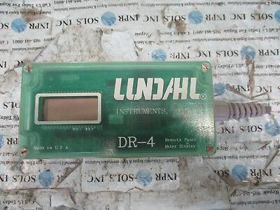 Lundahl Dr-4 Remote Panel Meter Display Lundahl Remote Panel Display Tested