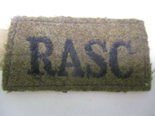 British Army WWII Royal Army Service Corps (RASC) Shoulder Slide