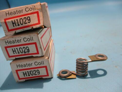 NEW LOT OF 3 EATON/CUTLER-HAMMER H1029 OVERLOAD HEATER