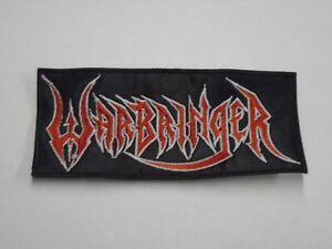 WARBRINGER THRASH METAL EMBROIDERED PATCH