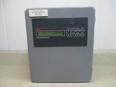 Panametrics Moisture Monitor Series 35 8131033h Used