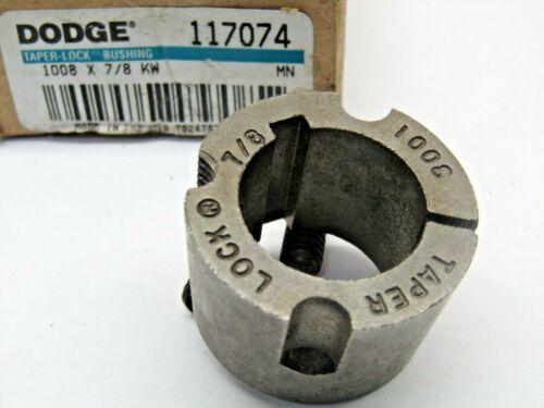 """Dodge 117074 1008 X 7/8 KW  7/8"""" Taper Lock Bushing"""