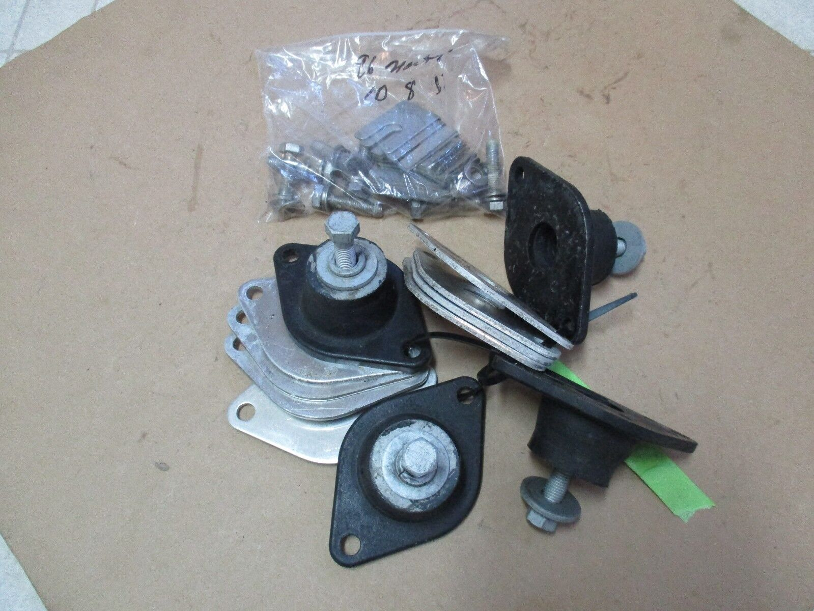 96 Arctic Cat Montego Tigershark Jet Ski Motor Mounts & Shims 94 95 ? PWC