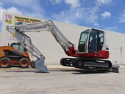 2019 Takeuchi Tb-290 Mid Size 20k Pound Excavator - Ac Cab - Brand New Tracks