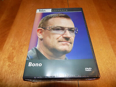 Biography Bono A E Bio Lead Singer U2 Classic Rock Band U 2 Artist Dvd Sealed