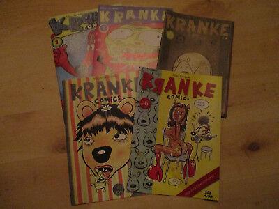Kranke Comics 1 2 3 5 6  Klaus Cornfield