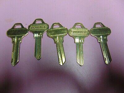 5 Keys  Everest Schlage C124 Keys Uncut  Locksmith