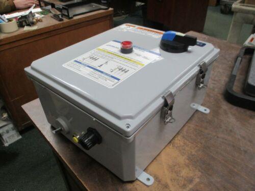 Eaton Type 3R Pump Controller 512-AB-RCX 24V Coil Trip: 4-20A Used