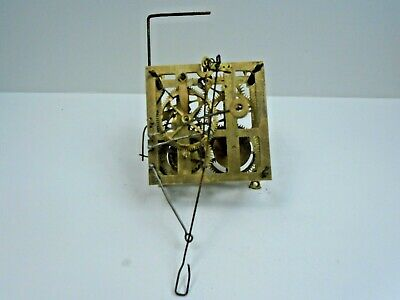 G.H.S. Cuckoo Clock Movement (FOR RESTORATION or PARTS ONLY)
