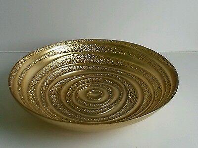 * NEW DECORATIVE GOLD GLASS DISH BOWL pot pourri ornament home gift decoration.