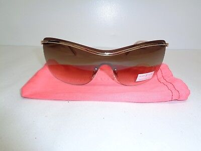 Ivanka Trump IT 067 61 Gold Classic Shield Fashion Sunglasses New Womens Eyewear