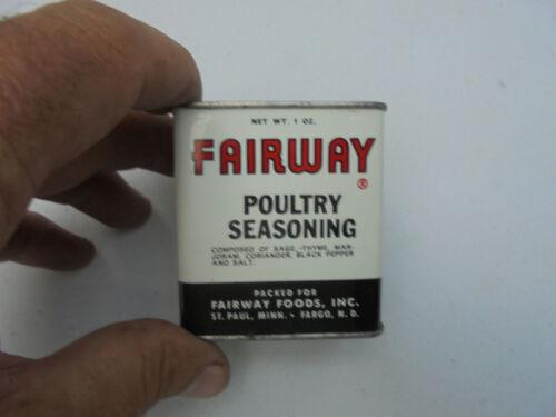 Vintage Fairway Poultry Seasoning Tin