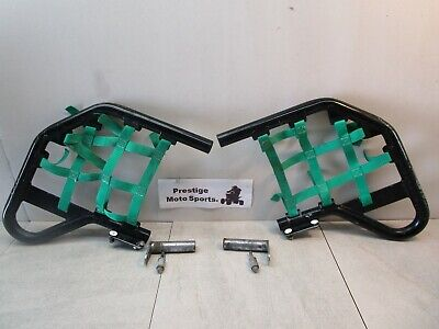 ALBA NERF BARS ! 04-18 honda trx 450r trx450r trx450er 450er left right nets atv