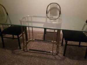 6-seater Glass Dining Table