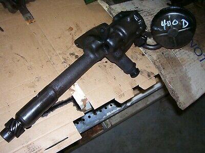 Vintage Ji Case 400 Diesel Tractor - Engine Oil Pump