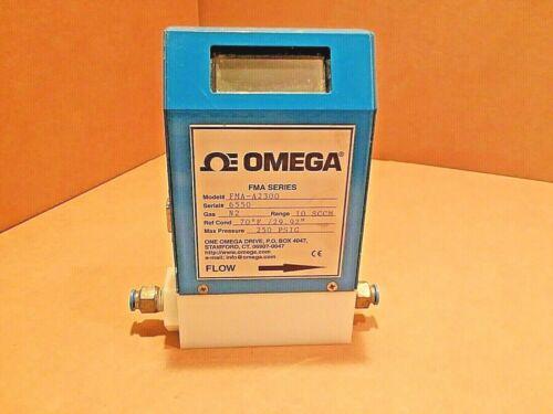 Omega Flow Meter  FMA-A2300 10 SCCM Max 250 PSIG