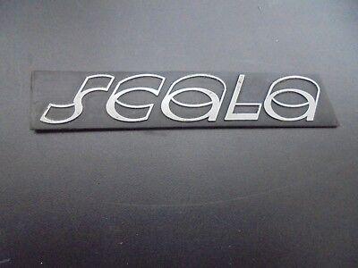 Vw Scirocco 53b Scirocco 2 Scala Schriftzug B Säul