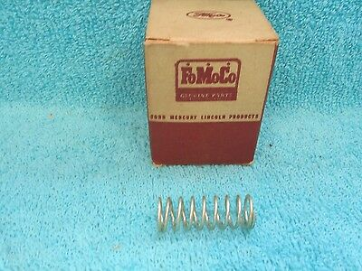 1957-58 FORD  DISTRIBUTOR DIAPHRAGM SPRING   NOS FORD  -