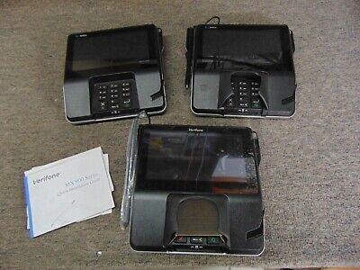 Verifone Mx925 Pin-pad Payment Terminal Credit Card Machine Pos 3 Pack