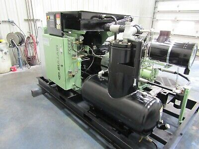 Sullair Vcc200sh150a 150 Hp. Rotary Screw Air Compressor Yr. 2013 Air Cooled