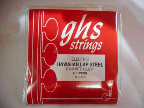 GHS Hawaiian Lap Steel Guitar 6 String Set - E Tuning