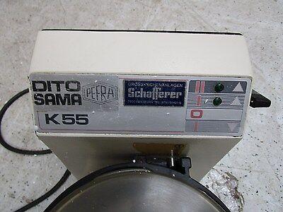 KUTTER ,FLEISCHKUTTER,Tischkutter,Fleischwolf,Cutter ca 5 Liter DITO SAMA K 55 E