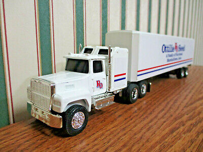 Ottilie Seed Ford Semi With Van Trailer By Ertl 1/64th Scale 2