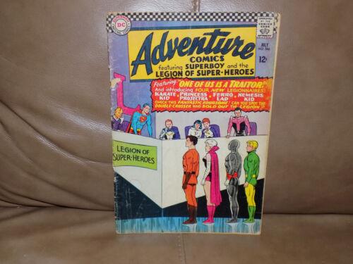 Adventure Comics Book No. 346 July 1966