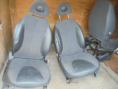 LEATHER SEATS Nissan Micra K12  2003 - 2010 Set 5 - Door Interior Seats ISOFIX