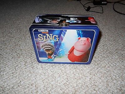 Sing Minion Limited Edition Best Buy Lunch Box Tin NWT Brand (Best Lunch Box Brands)