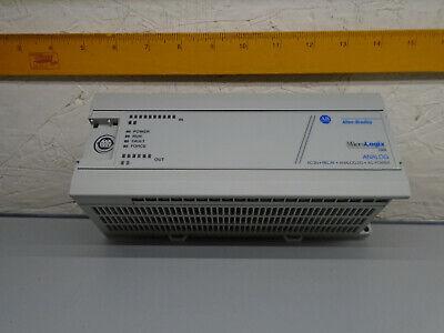 1761-l20awa-5a  Allen Bradley Micrologix 1000 Plc 1761l20awa5a  X16