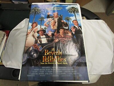 Vintage One Sheet Movie Poster The Beverly Hillbillies 1993 Diedrich Bader