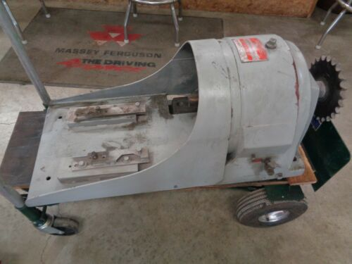 Link Belt gear Speed Reducer 13.9:1 Model / Size 5CDB2   55 (5 HP) see pic