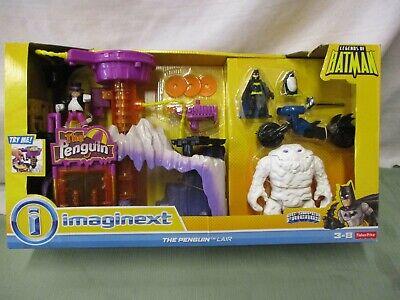 Fisher Price Imaginext Super DC Friends Penguin Lair Headquarters Clayface set