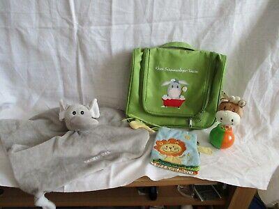 Noch ein paar Babyspielsachen und eine kleine Babytasche