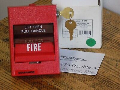 Edwards E-278 Intelligent Manual Pull Station Fire Alarm