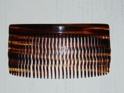 Vintage Faux Tortoise Shell Hair Comb Made In France Charles Wahba