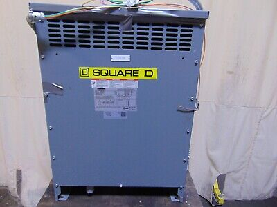15 Kva Square D Efficient Distribution Transformer 480 Delta 208y 120
