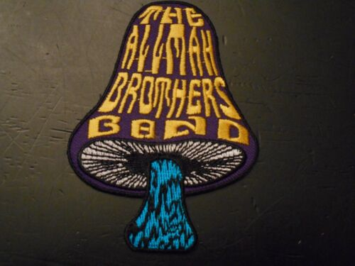 Allman Brothers Band - Mushroom Patch - Embroidered - Iron or Sew on