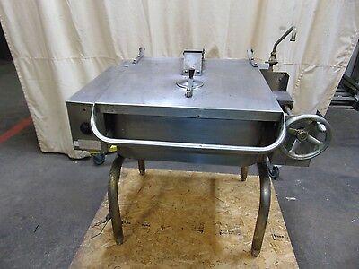 Commercial Groen Fpc-2 Stainless Steel Tilt Tilting Braising Pan Skillet