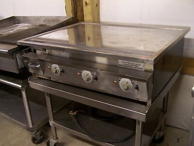Keating 36 Chrome Top Griddle