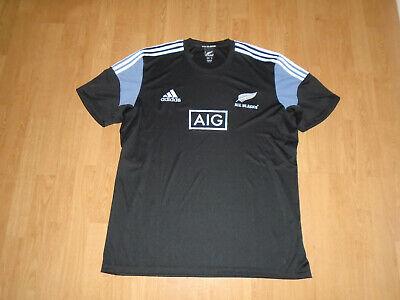 "UNWORN All Blacks shirt size XXL/52-54"" chest, adidas climacool, UK FREEPOST!"