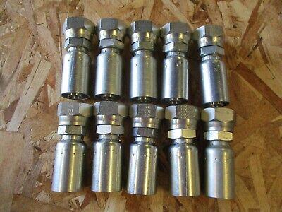 Genuine Weatherhead U Series Hydraulic Fittings 12u-616 10 Fittings Included