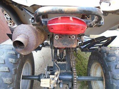 2006 DINLI 270 quad TAILLIGHT atv rear lamp brake light assy assembly