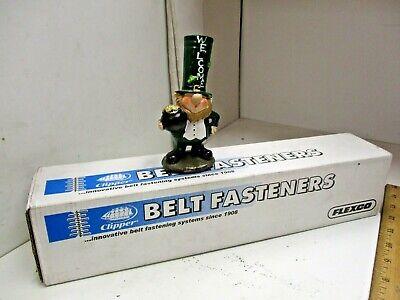 12 New Clipper Flexco U3-s12 Belt Fasteners 430 Stainless Unibar 12