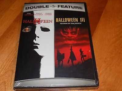 HALLOWEEN II & III SEASON OF THE WITCH DOUBLE FEATURE Horror Classics DVD NEW