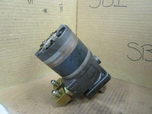 Ross Torqmotor Hydraulic Motor MF100910AAAB 138 VDC Used
