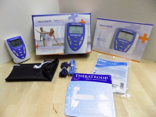 Neurotech Aviva Tens XP Pain Management System Electrical Muscle Stimulator USED