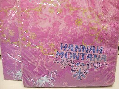 Hannah Montana Lunch Napkins, Party Napkins (16 Ct)