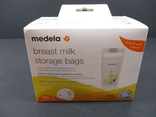 MEDELA  Breast Milk Storage Bags 100 count per Box- Ready to Use- NEW